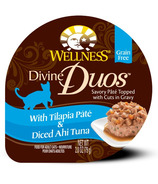 Wellness Divine Duos Tilapia Pate & Diced Ahi Tuna CASE OF 12