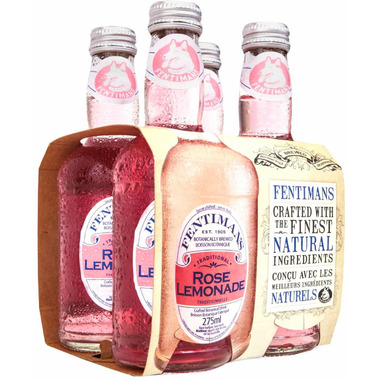 Fentimans Botanically Brewed Traditional Rose Lemonade