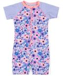nano One-Piece Rashguard Swimsuit Sheer Lilac 9-24M