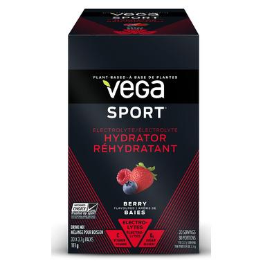 Vega Sport Electrolyte Hydrator Singles Box Berry