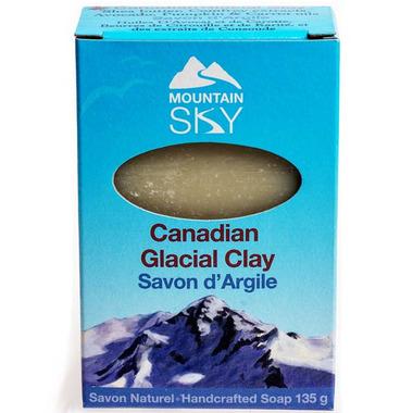 Mountain Sky Canadian Glacial Clay Bar Soap