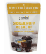 Organic Gemini Chocolate Muffin and Cake Mix with Tigernut Flour