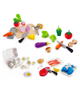 Hape Wooden Food Bundle