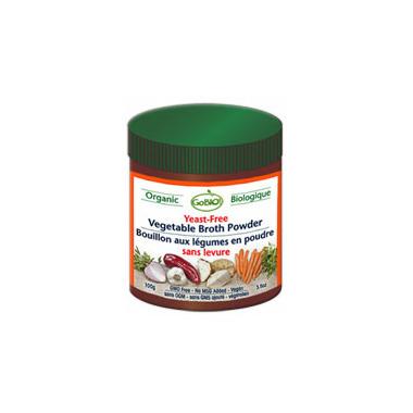 GoBIO! Organic Yeast-Free Vegetable Broth Powder
