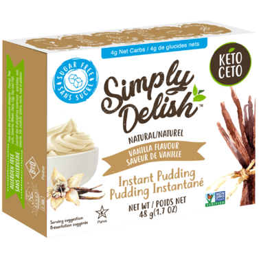 Simply Delish Instant Vanilla Pudding