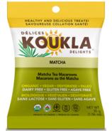 Koukla Delights Matcha Tea Organic Macaroons Mini Pack