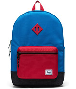 Herschel Supply Heritage Backpack Youth XL Imperial Blue Red Black