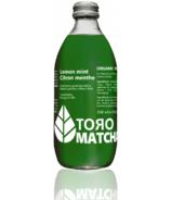 ToroMatcha Organic Sparkling Tea Lemon Mint