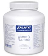 Pure Encapsulations Women's Nutrients (en anglais)