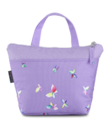 JanSport Lunch Tote Purple Dawn Butterfly Kisses