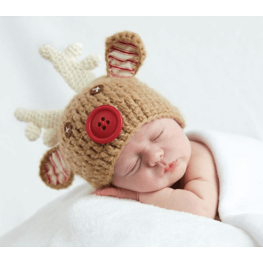 Mud Pie Reindeer Hat