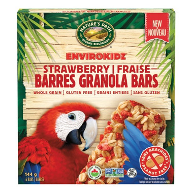 Nature\'s Path EnviroKidz Granola Bars Strawberry