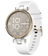 Garmin Lily Sport Edition White with Cream Gold Bezel