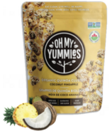 Oh My Yummies Organic Quinoa Clusters Coconut Pineapple