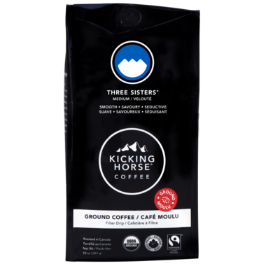 Kicking Horse Coffee Three Sisters Ground Coffee