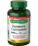Nature's Bounty Turmeric Curcumin Plus Black Pepper