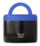 S'nack x S'well Black Licorice Food Container