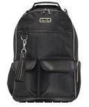 Itzy Ritzy Boss Backpack Black Herringbone