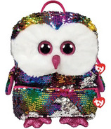 Ty Fashion Owen the Owl Sequin Backpack
