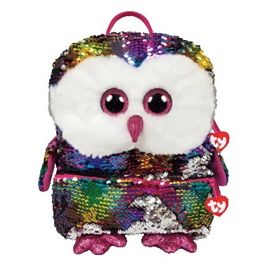 Buy Ty Fashion Owen The Owl Sequin Backpack From Canada At Well Ca