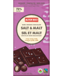 Alter Eco Dark Organic Chocolate Salt & Malt