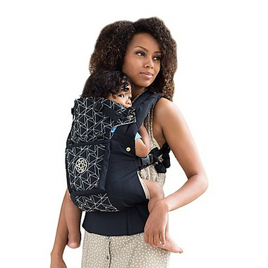Lillebaby Complete Embossed Luxe Baby Carrier Black Diamond