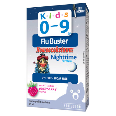 Homeocan Kids 0-9 Flu Buster Homeocoksinum Nighttime Formula