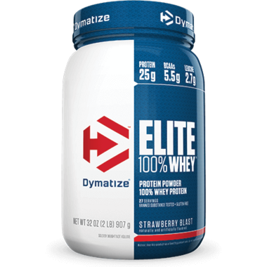 Dymatize Nutrition Elite Whey Protein Strawberry Blast