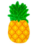 Sunnylife Pineapple Shaped Towel