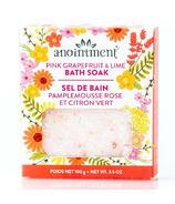 Anointment Pink Grapefruit & Lime Bath Salt