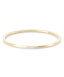 Bluboho Faceted Felicity Stacking Ring 14k Yellow Gold Size 7
