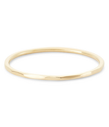 Bluboho Faceted Felicity Stacking Ring 14k Yellow Gold Size 6