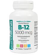 Prairie Naturals Vitamin B-12 Sublingual