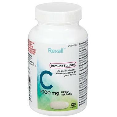 Rexall Timed Release Vitamin C