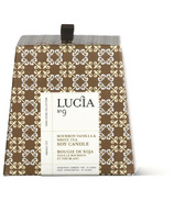 Lucia Bourbon Vanilla & White Tea Soy Candle