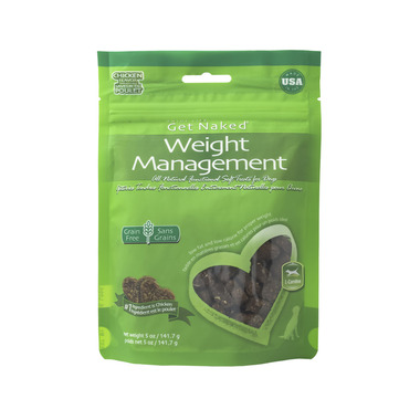Natural Polymer Int. Get Naked Weight Management Soft Treats Bag