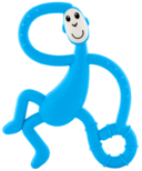 Matchstick Monkey Dancing Monkey Teether Light Blue