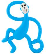 Matchstick Monkey Dancing Monkey Teether Light Blue