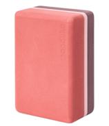 Manduka Recycled Foam Block Clay