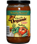 Simply Natural Organic Chunky Salsa Medium