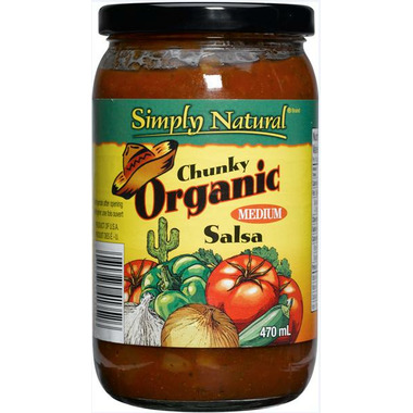 Simply Natural Organic Chunky Salsa Medium