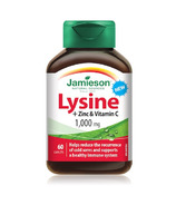 Jamieson Lysine + Zinc and Vitamin C