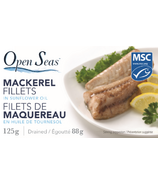 Open Seas Mackerel Fillets in Sunflower
