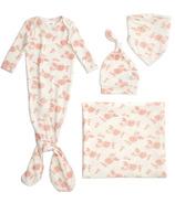 aden+anais Snuggle Knit Newborn Gift Set Rosettes