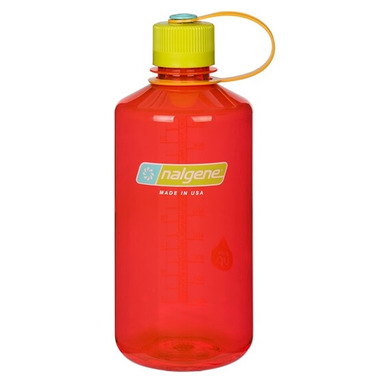 Nalgene Tritan 32 Ounce Narrow Mouth Loop Top Pomegranate