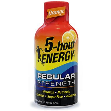 5-Hour Energy Shot Orange