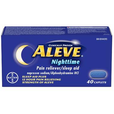 Aleve Nighttime Pain Reliever & Sleep Aid