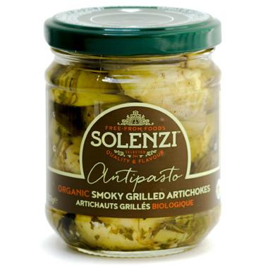 Solenzi Antipasto Organic Smoky Grilled Artichokes