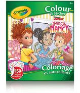 Crayola Colour & Sticker Book Fancy Nancy