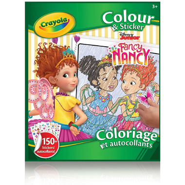 Crayola Colour & Sticker Book Fancy Nancy